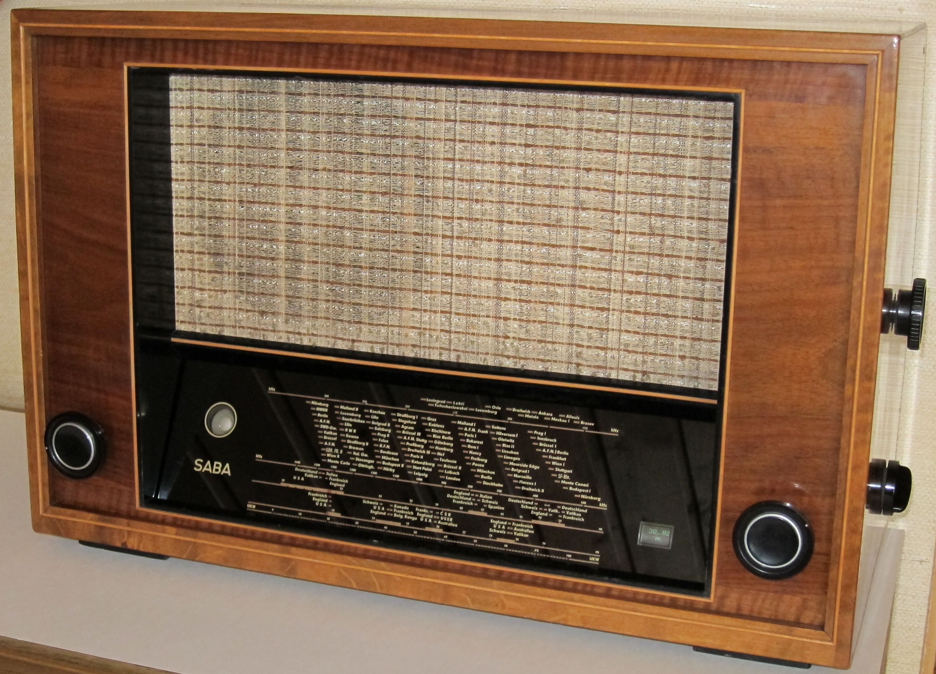 röhrenradio magisches auge